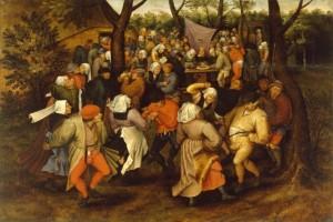 Pieter_Bruegel_II_-_Peasant_Wedding_Dance_-_Walters_37364-535x357